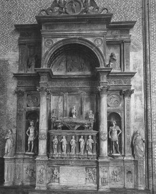 lombardo tullio monument of andrea vendramin 1480
