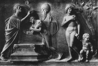 lombardo tullio st mark baptizes ammianus