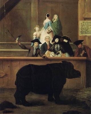 Il Rinoceronte  1751  Venezia, ca Rezzonico