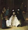 Venditrice di essenze  1757  Venezia, Ca Rezzonico