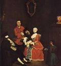 Visita in bautta  1760  Venezia, Ca Rezzonico