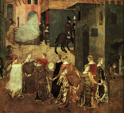 lorenzetti,ambrogio effect of good government on the city