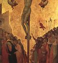 Lorenzetti,Ugolino The Crucifixion, mid 1300s, tempera on wo