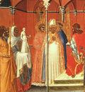 lorenzetti,pietro st  sabinus before the governor, detail,