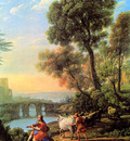 Lorrain Claude Landscape with Apollo and Mercury Sun