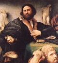 LOTTO PORTRAIT OF ANDREA ODONI,Royal Collection, Hampton Cou