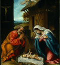 LOTTO THE NATIVITY, 1523, NGW