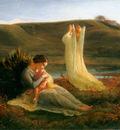 janmot louis le poeme de l ame 3 l ange et la mere