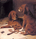 Luker William Two Hounds In A Great Hall