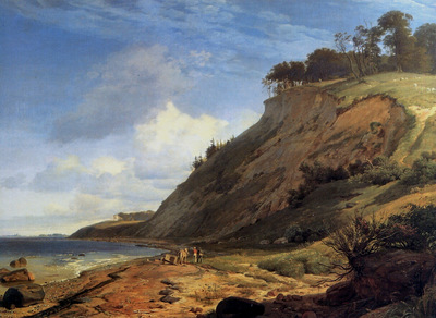 Lundbye Johan Thomas Danish coast
