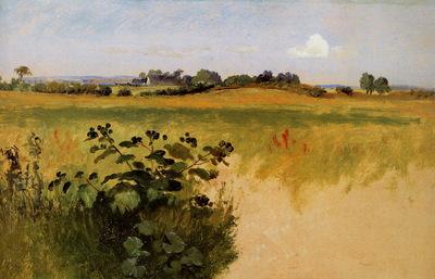 Lundbyw Johan Thomas Landscape near Vejby Sun