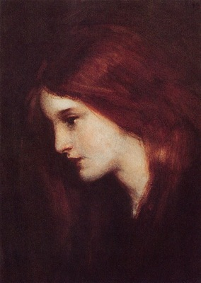 Laura Muntz Lyall The Little Red Hair, De