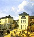 Achenbach Andreas Die alte Akademie in Duesseldorf
