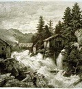 Achenbach Andreas Logging Camp