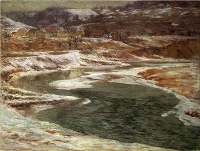 Adams John Ottis Winter Brookville