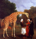 Agasse Jacques Laurent The Nubian Giraffe