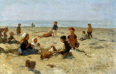 Akkeringa Johannes Playing on the beach Sun