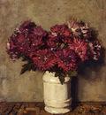 Akkeringa Johannes Evert Chrysanthemums In A Vase