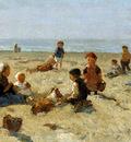 Akkeringa Johannes Playing on the beach Sun