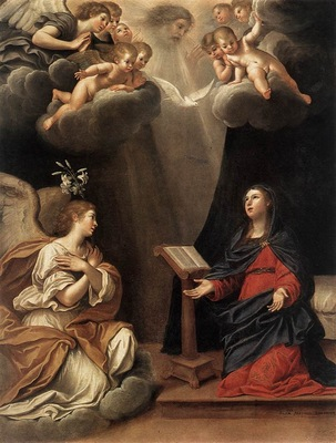 ALBANI Francesco The Annunciation