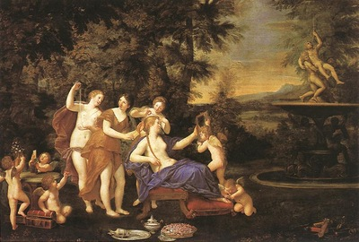 ALBANI Francesco Venus Attended By Nymphs And Cupids