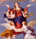 Albani Francesco Assumption Of The Virgin