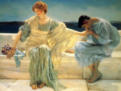 Lawrence Alma Tadema Ne me demande plus detail , De