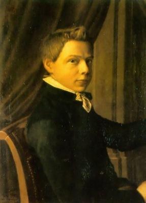 Portrait of Lourens Alma Tadema