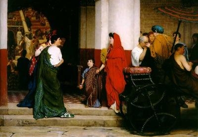 entrance to a roman theatre