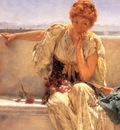 Alma Tadema, Lawrence Pleading detail end