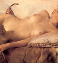 Alma Tadema In the Tepidarium detail