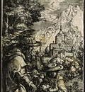 rest flight egypt engraving