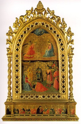 Fra Angelico Adoration and Annunciation ca 1420 Museo di San