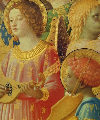 Fra Angelico Coronation of the Virgin Altarpiece fr San Do