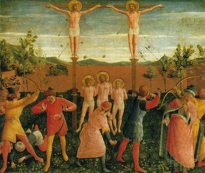 Fra Angelico San Marco altarpiece, 1438 40, Detalj 1, Museo