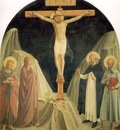 Fra Angelico Crucified Christ with Saint John the Evangelist
