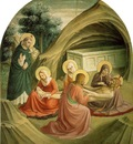Fra Angelico Lamentation ca 1425 30 Cell 2, Convent of San M
