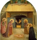 Fra Angelico Nativity ca 1425 30 Cell 5, Convent of San Marc