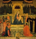 Fra Angelico San Marco altarpiece, 1438 40, Museo di San Mar