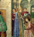 Fra Angelico St Lawrence receiving the treasures of the chur