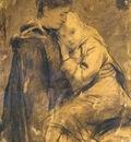 Anker Albert Mutter Und Kind