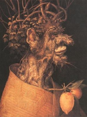 ARCIMBOLDO WINTER,1563, KUNSTHISTORISCHES MUSEUM,WIEN