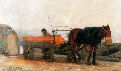 Arntzenius Floris Horse And Carriage Sun