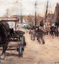 Arntzenius Floris At The Harbour Sun