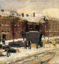 Arntzenius Floris City View In The Snow Sun