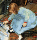 Arntzenius Floris Lies The Artists Daughter Painting Sun