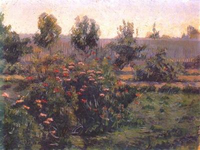 bacon garden landscape c1894