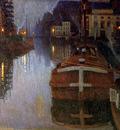 Baertsoen Albert Evening in Gent Sun