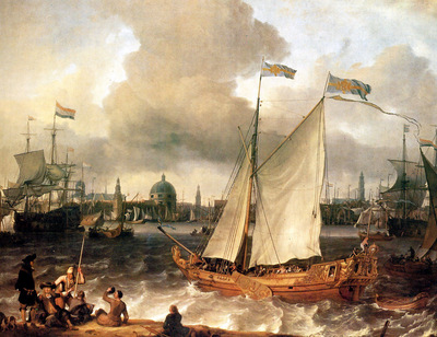 Bakuyzen Ludolf The port of Amsterdam Sun