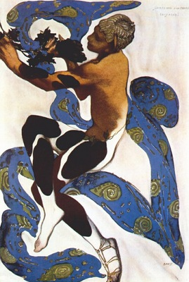 bakst lapres midi dun faune nijinsky as the faun